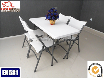 Ft New Durable Products Of Folding Plastic Dining Tables And Chairs - 4ft coffee table