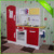 Wooden pretend play kitchen set educational Kids toy