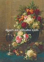 New design painting image for living room flower oil painting