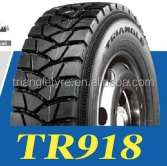 Triangle Brand Off Road Truck Tire 11.00R20 TR918 for Non-paved Roads