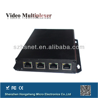 4 channel telephone to fiber optical multiplexer from China