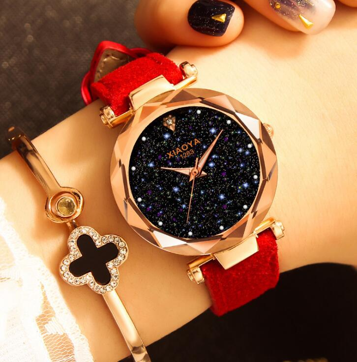Wholesale Cheap Leather Fashion Beautiful Chain Dress Women Wrist Watch Decorative Ladies Watch