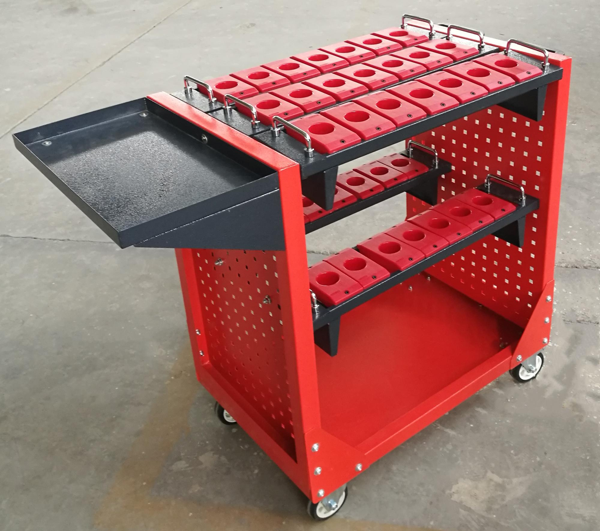 collapsible tool trolley BT HSK tool holder trolley cabinet