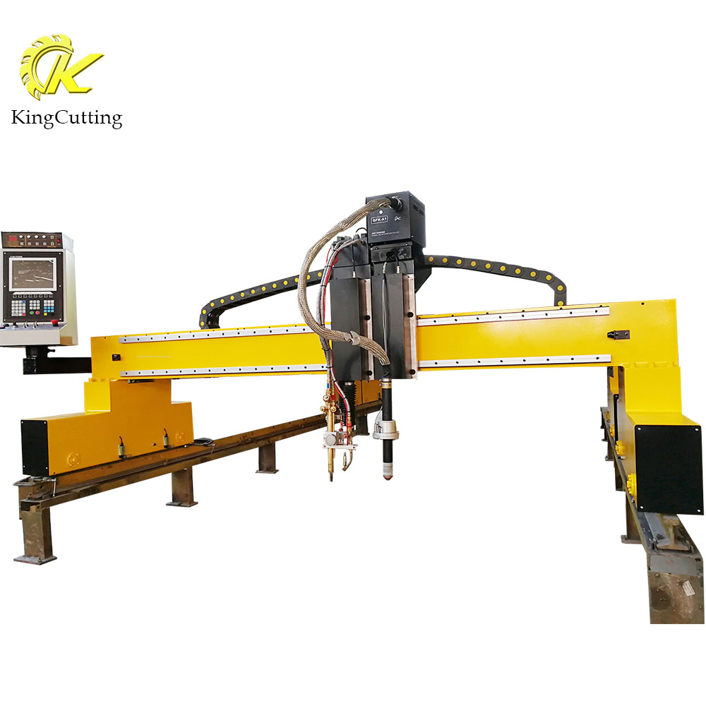 <strong>Manufacturer</strong> Directly KCG Gantry CNC Plasma Oxygen Cutting Machine with Gas Cutting Nozzle Size