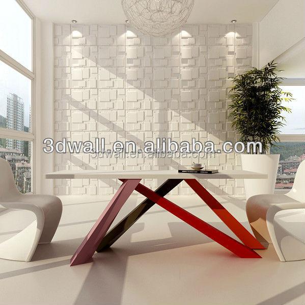 Moderne style d coratif int rieur 3d texture mur panneau for Panneaux decoratifs pour murs interieurs