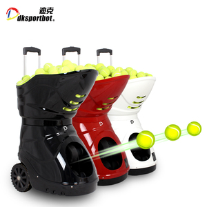 DT6 New Arrival Smart Automatic tennis ball shooter machine for best selling