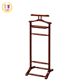 Men S Wooden Suit Valet Stand For Hotel Product On Alibaba