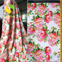 new design china suppliers air layer polyester spandex print fabric