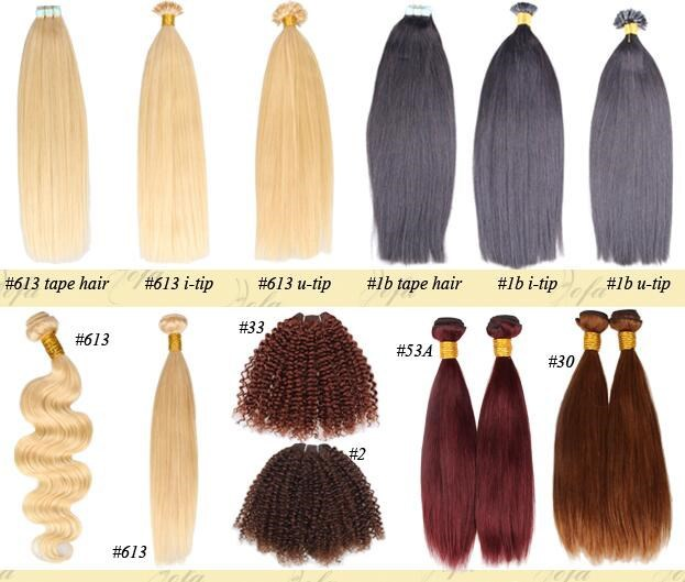 Wholesale Clip In Hair Extensions Cheap 121