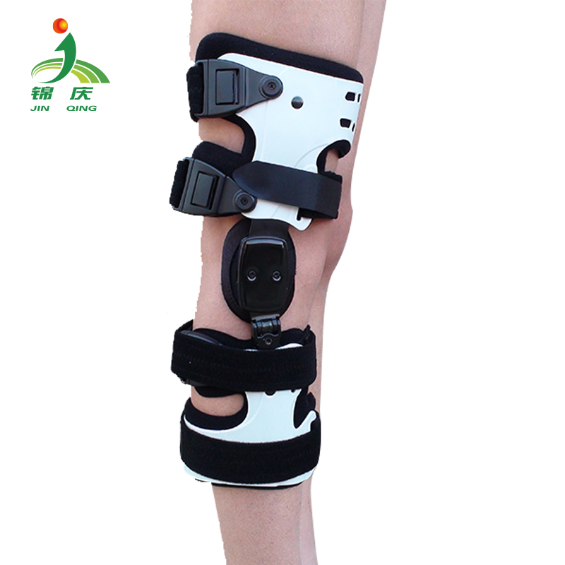 adjustable orthopedic rom hinged knee stabilizer brace