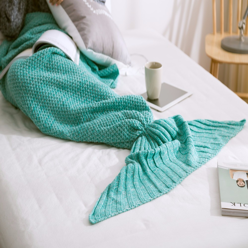 nouveau design personnalis 80x180 cm arcylic adulte tricot canap lit throw couchage sac. Black Bedroom Furniture Sets. Home Design Ideas