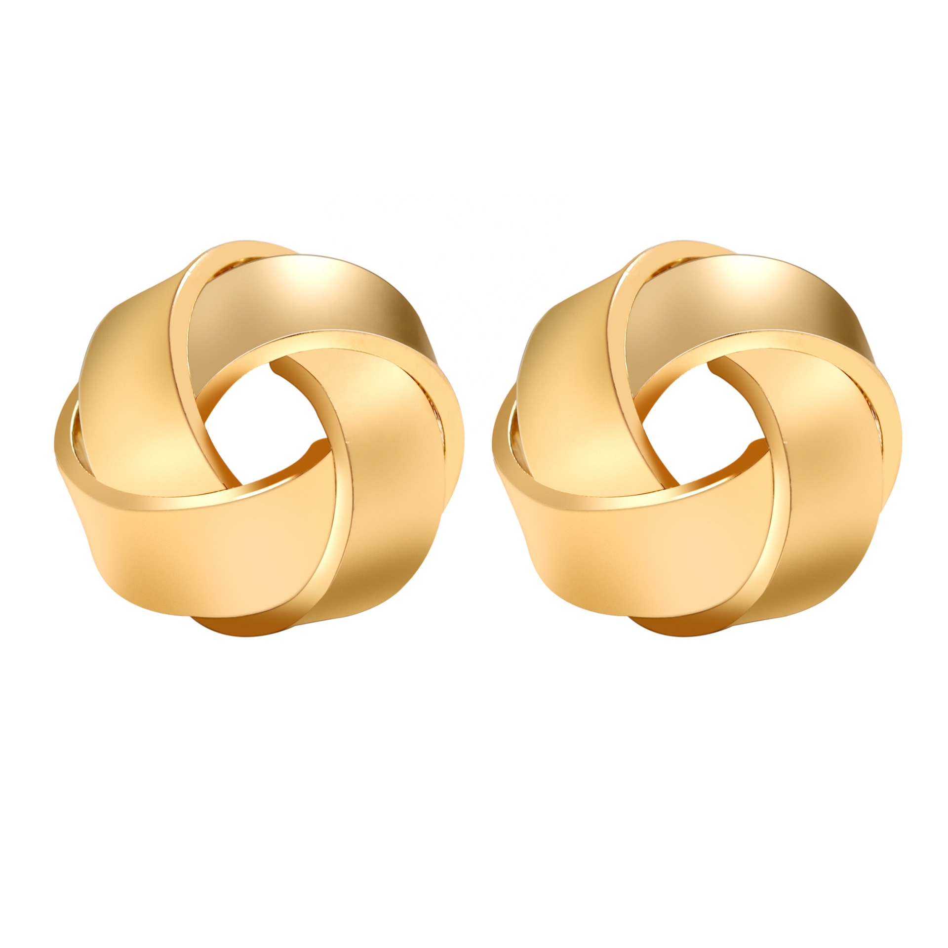 Latest product <strong>gold</strong> alloy beautiful women fashion <strong>flower</strong> stud <strong>earring</strong>