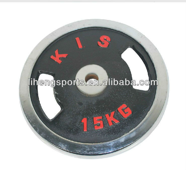 Take handle paint dumbbell barbell cast iron weight plate for sale
