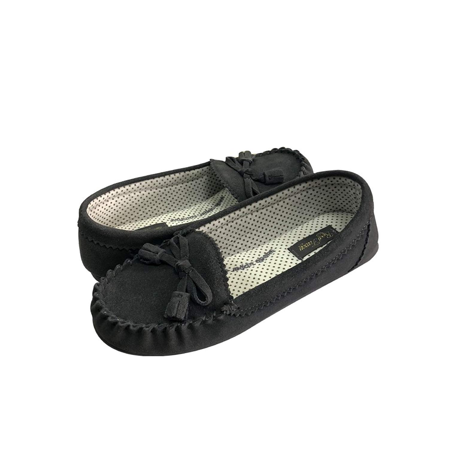 a731a7df4 Get Quotations · RealFancy Moccasin Slippers for Women Flat Casual  Comfortable Loafer Shoes Womens Moccasin Slippers Spring Moccasins Shoes