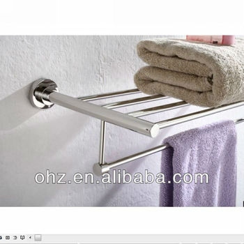 Towel Rack Stainless Steel Wall Mounted Coat Rack Shelf 1812 Buy