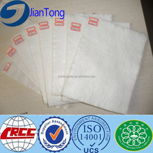 High quality geotextile sizes and specifications/ nonwowen geotextile size