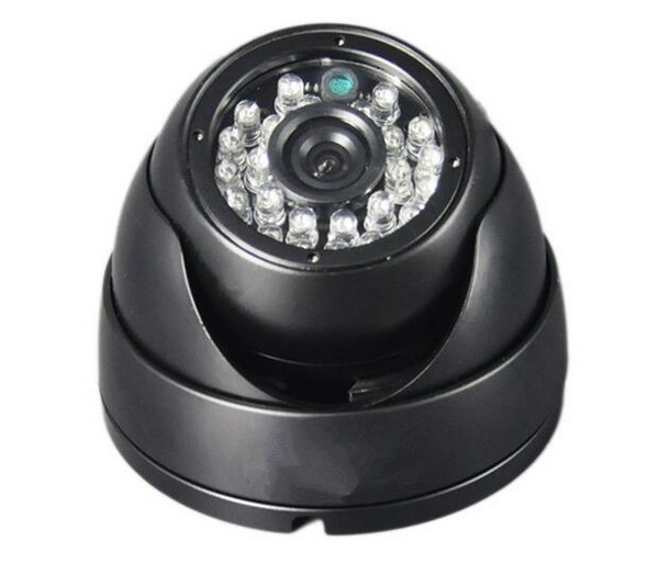 Big Sale High Definition Analog Dome Cameras Sony 600TVL Security Indoor Plastic 24 IR LED CCTV Dome Camera