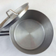 Made in China short body stainless steel sauce cooking pot with milk pots