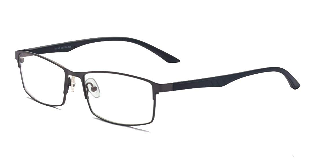 ALWAYSUV Half/Full TR90 Frame Clear Lens Business Glasses Prescription Optical Glasses Frame