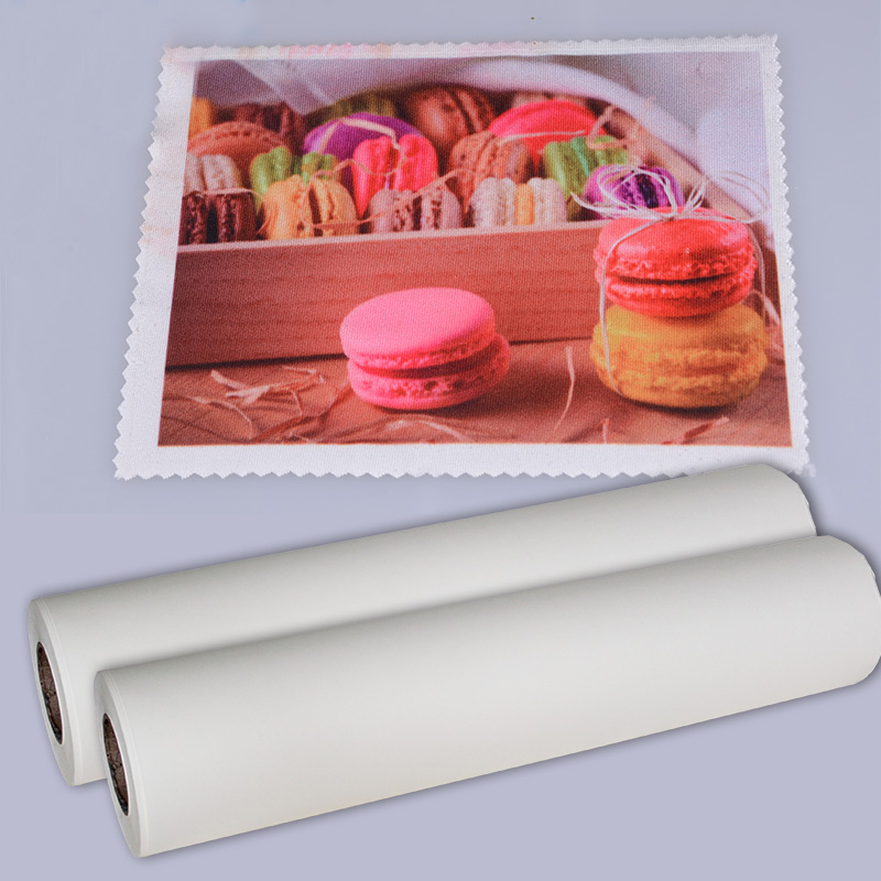 Kenteer adhesive sublimation paper A4 or roll size for cotton