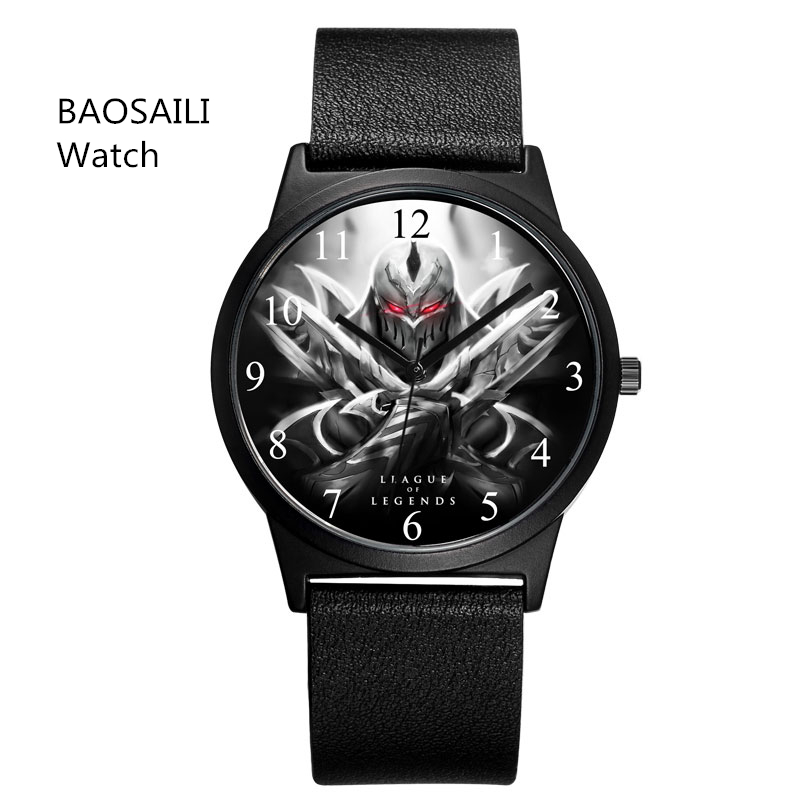 Cool Men Watches Watches Game Character Made in prc No Brand Watches Man Relogio Masculino