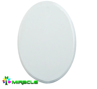 Oval Sublimation ceramics glazed wall tiles for Printing Photos
