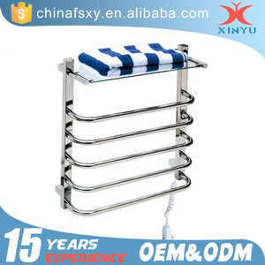 Bathroom Shelf Wire Ladder Towel Stainless Steel Rack