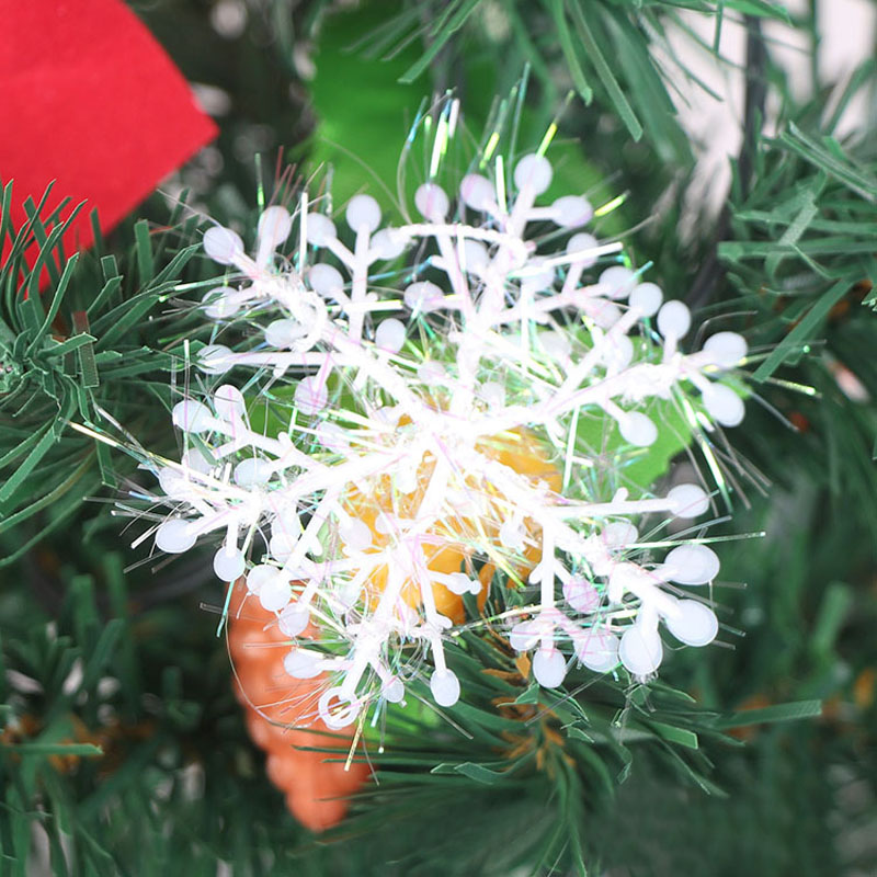 30Pcs White Snowflake Ornaments Christmas Holiday Festival Party Home Decor    TB Sale