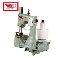 WEIJIN Brand Apparel & Textile Machinery portable sack sewing machine