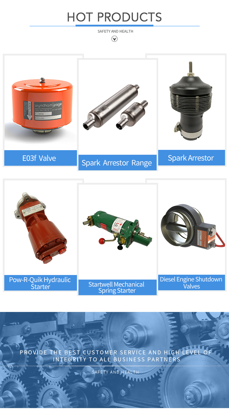 Mechanical Spring Starter Starting System for Engine Accessories