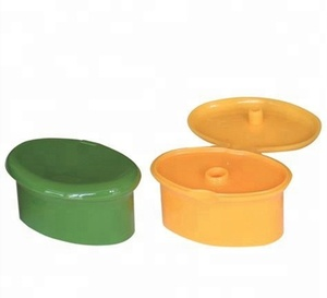 22mm snap oval Plastic flip top cap for shampoo bottle