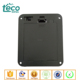 TBH-2A-4J Ningbo TECO 6V 4xAA Panel Mounted Battery Holder with Cover and Switch