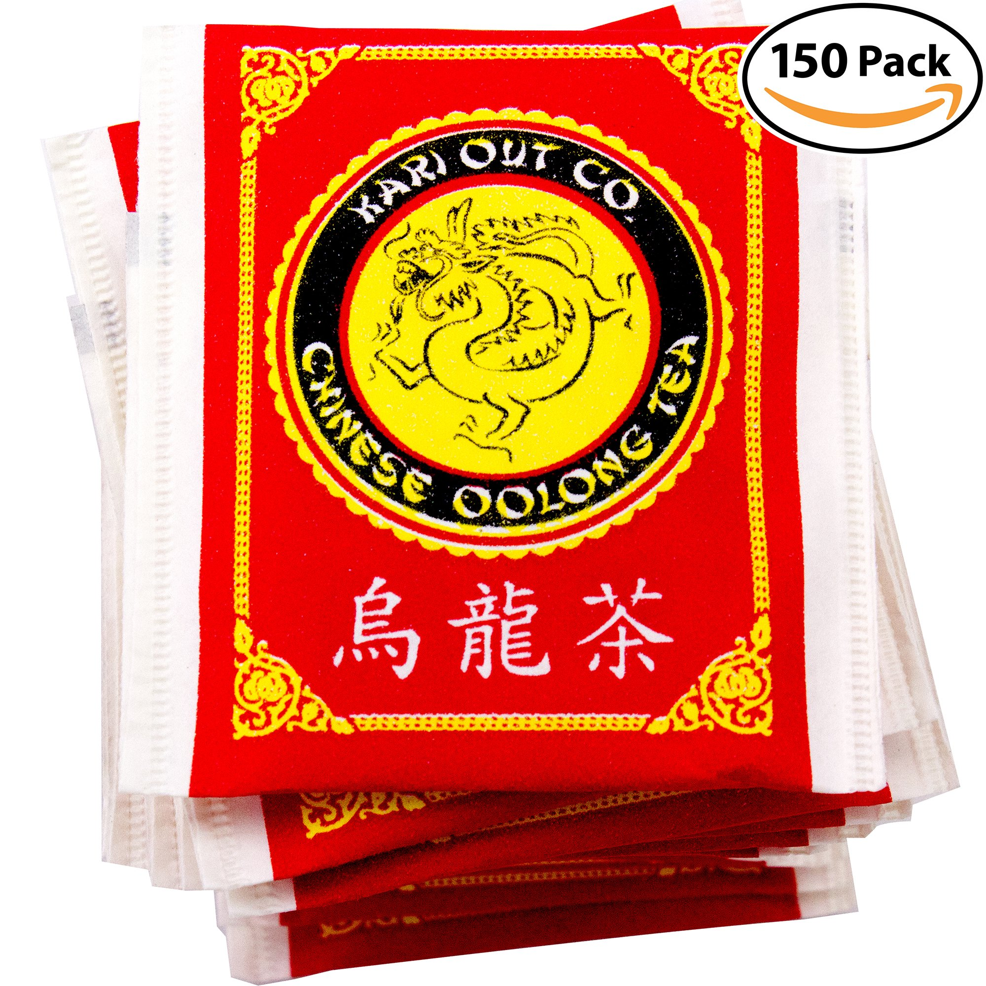 Get Quotations Premium Full Flavored Oolong Tea Bags 150 Pack Traditionally Brewed Caffeinated Drink Helps