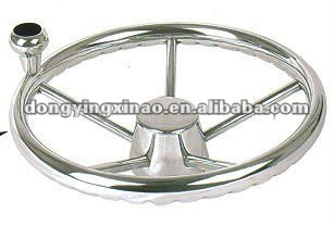 stainless steel 316 steering wheel for boat