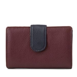 c57c960995 High quality OEM women wallet with ID window inside customized wallet women  lady purse