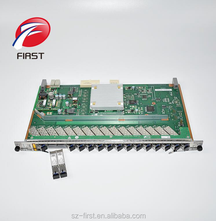 Original Hua Wei 16 Ports Gpon Board With 16 Pcs Gpfd Class C Ma5683t Sfp Modules For Ma5680t Ma5608t Olt