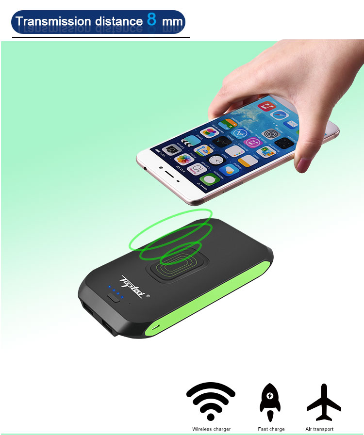 QI Power Bank,10000mAh Wireless Charger with 2 USB Ports Fast Charging_02 (2).jpg