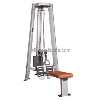 tz 5032 dual pulley row tower pully machine lat pulldown buy