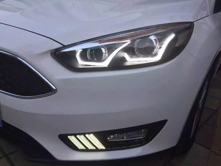 Car Headlights For Ford Focus 3 sedan Hatchback 2015 2016