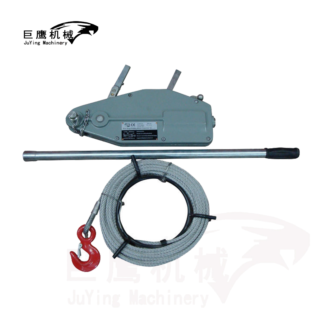 Portable Hand Pulling Wire Rope Winch Manual Cable Hoist - Buy Hand ...