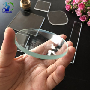 Factory made strictly checked 130mm led tempered light glass lens clear 128mm at price