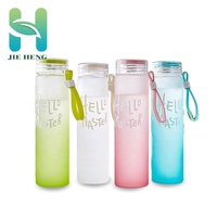 2018 New glass water bottle for water