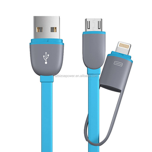 Colorful Round USB 2.0 8 pin Charger usb Cable For android iPhone 6 5 5g 5S iPad Mini iPod Touch 5 Nano 7 ios 8