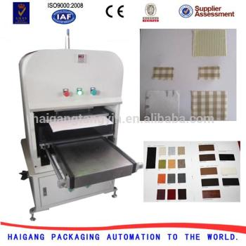 New Design Color Card Making Machine Fabric Sample Color Chart