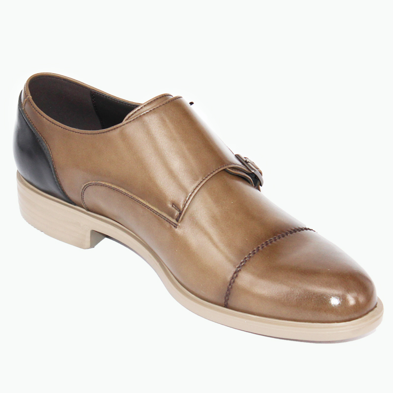 leather on wholesale slip shoes Factory dress quality soft man buckle EwpgqWqX6