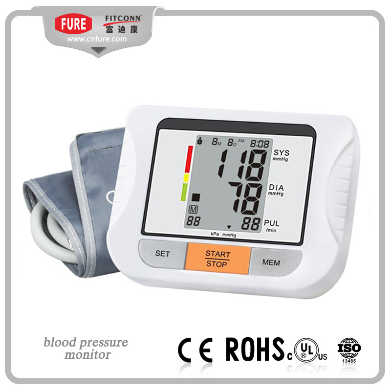 Voice Talk Mode Digital Electronic Upper Arm Blood Pressure Meter Monitor