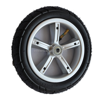 8 Inch 200x45 Inflatable Kick Scooter Wheel
