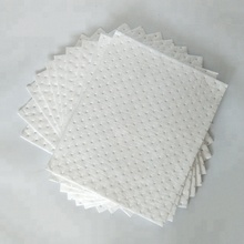 100% PP Serie <span class=keywords><strong>olio</strong></span> assorbente <span class=keywords><strong>olio</strong></span> bianco sorbent pad per sorbent materiali