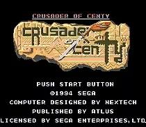 Sega 16bit MD games card: Crusader of Centy For 16 bit Sega MegaDrive Genesis Game console EUR/USA Case