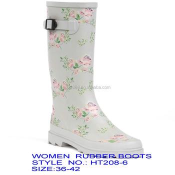 Womens Tall Snow Winter Waterproof Rain Wellies Wellington Boots ... f37ee5fe62